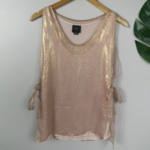 Anthropologie Shimmery blouse